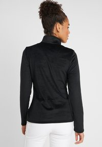 Spyder - SHIMMER BUG - Bluza z polaru - black - 2