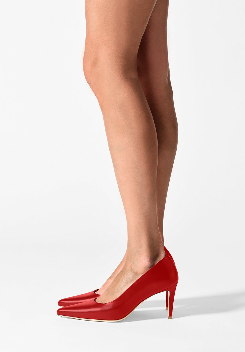 FERAGGIO - RUSHHOUR RED - Klassieke pumps - red