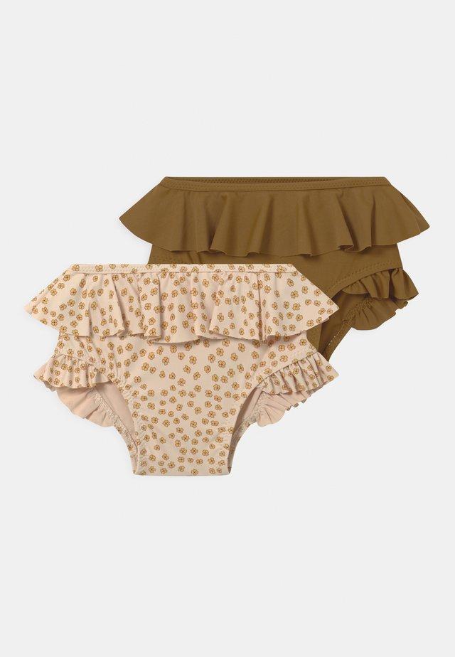 2 PACK  - Bikinibroekje - buttercup yellow/breen