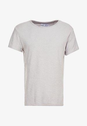 CREW NECK TOWELLING - Basic T-shirt - grey marl