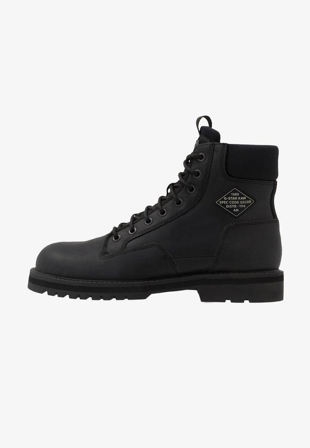 PREMIUMPOWELL BOOT - Bottines à lacets - black