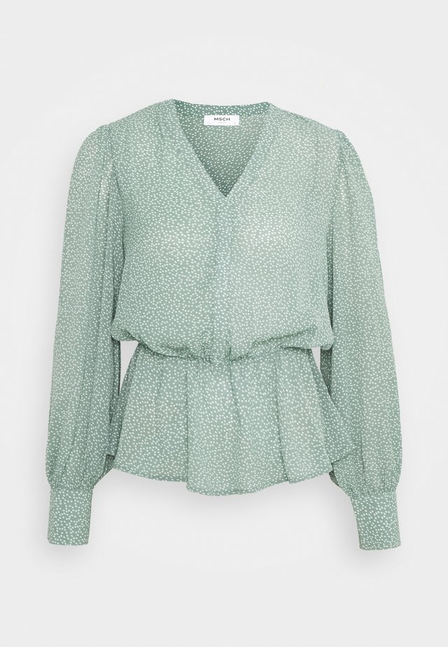 ADRA RIKKELIE - Long sleeved top - green