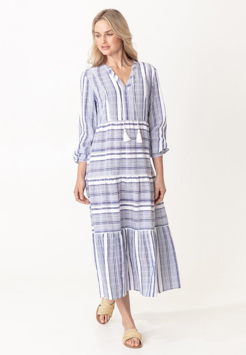 Indiska - YASMINA - Denní šaty - blue