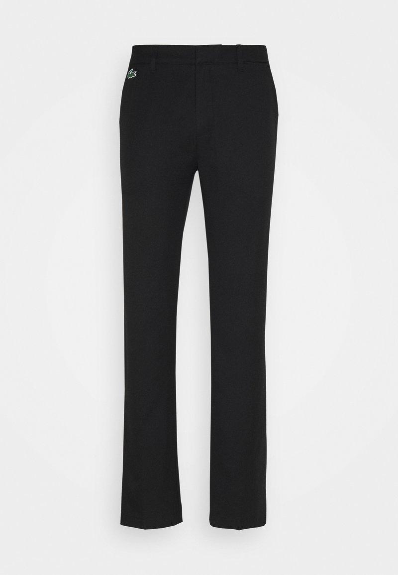 Lacoste Sport - GOLF CHINO - Kalhoty - black