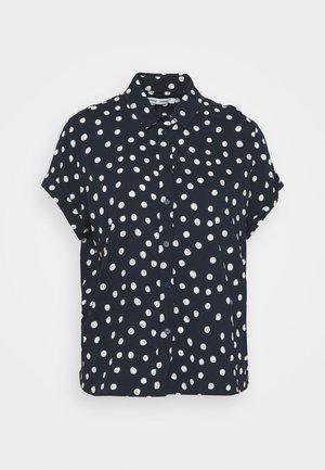 MAJAN - Button-down blouse - blue