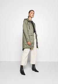 Noisy May - NMMISSI  LONG JACKET - Winter coat - kalamata - 1