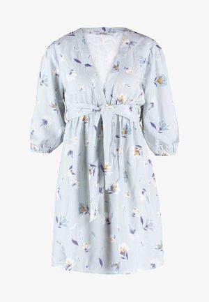 DEEP V MINI DRESS - Denní šaty - blue