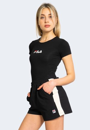 YULIANA  - Camiseta estampada - black