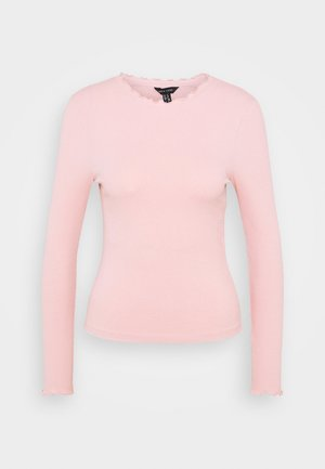 BABYLOCK TEE - Long sleeved top - light pink