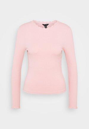 BABYLOCK TEE - Top sdlouhým rukávem - light pink