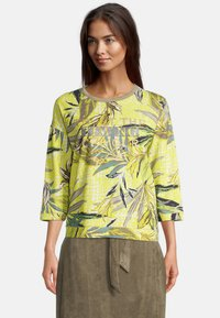 Betty Barclay - Long sleeved top - green/yellow - 0