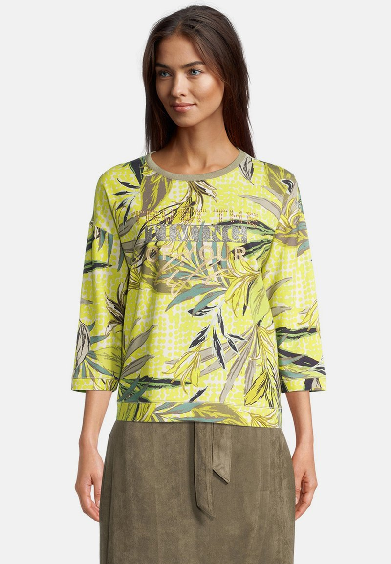 Betty Barclay - Long sleeved top - green/yellow