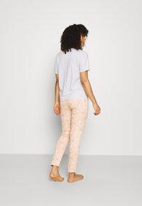 Women Secret - BED - Pyjamas - light grey melange - 2