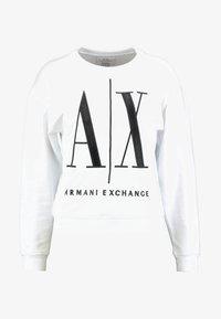 Armani Exchange - Sweatshirt - white - 4