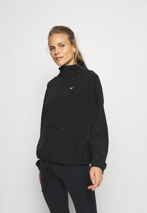 JACKET - Sportovní bunda - black/white