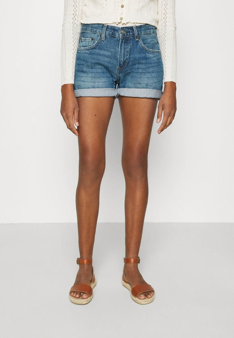 Pepe Jeans - MABLE - Denim shorts - denim
