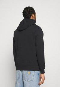 Calvin Klein Jeans - MONOGRAM HOODIE - Huppari - black - 2