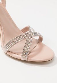 Dune London WIDE FIT - WIDE FIT MAGDALENA - High heeled sandals - blush - 2