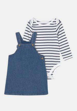 BABY PINNY SET - Longsleeve - blue
