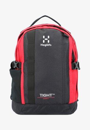 TIGHT JUNIOR RUCKSACK  - Backpack - true black/scarlet red
