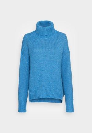 MOLLI TURTLENECK - Jersey de punto - lichen blue