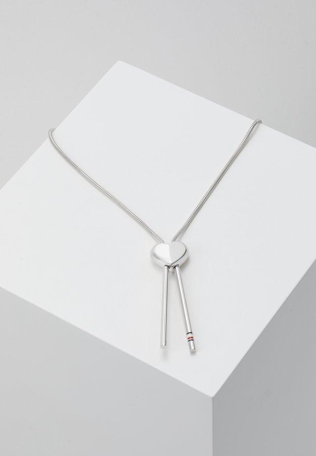 DRESSE DUP - Necklace - silver-coloured