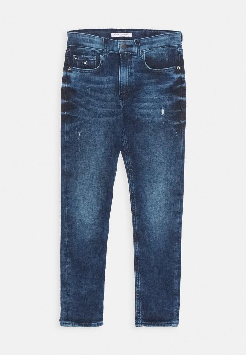 Calvin Klein Jeans - TAPERED - Slim fit jeans - denim