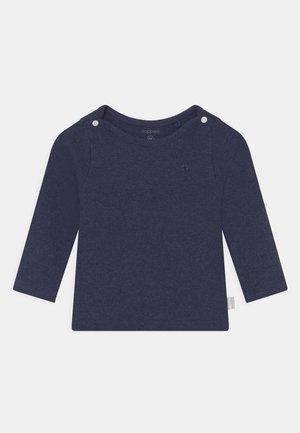 BABY TEE NATAL UNISEX - Long sleeved top - navy melange