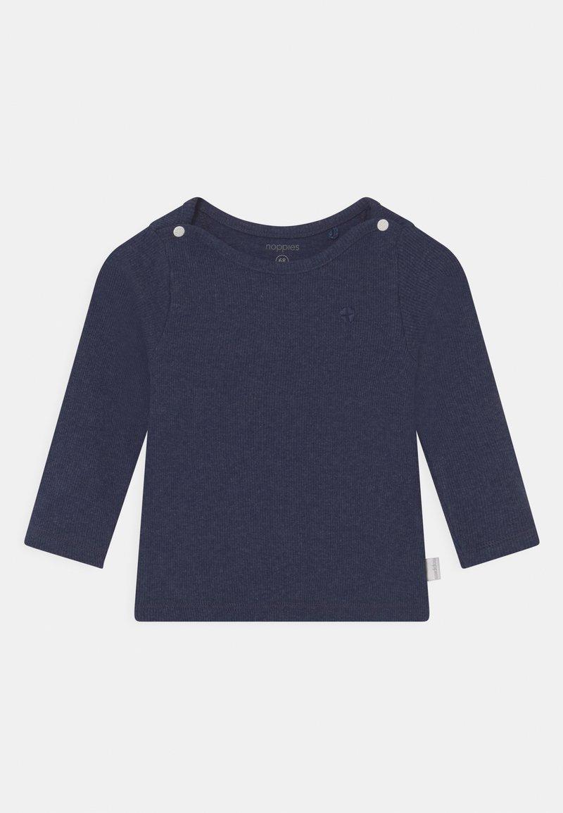 Noppies - NATAL UNISEX - T-shirt à manches longues - navy melange