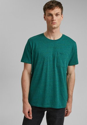 Basic T-shirt - teal green