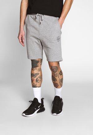 SHARK - Shorts - light grey melange