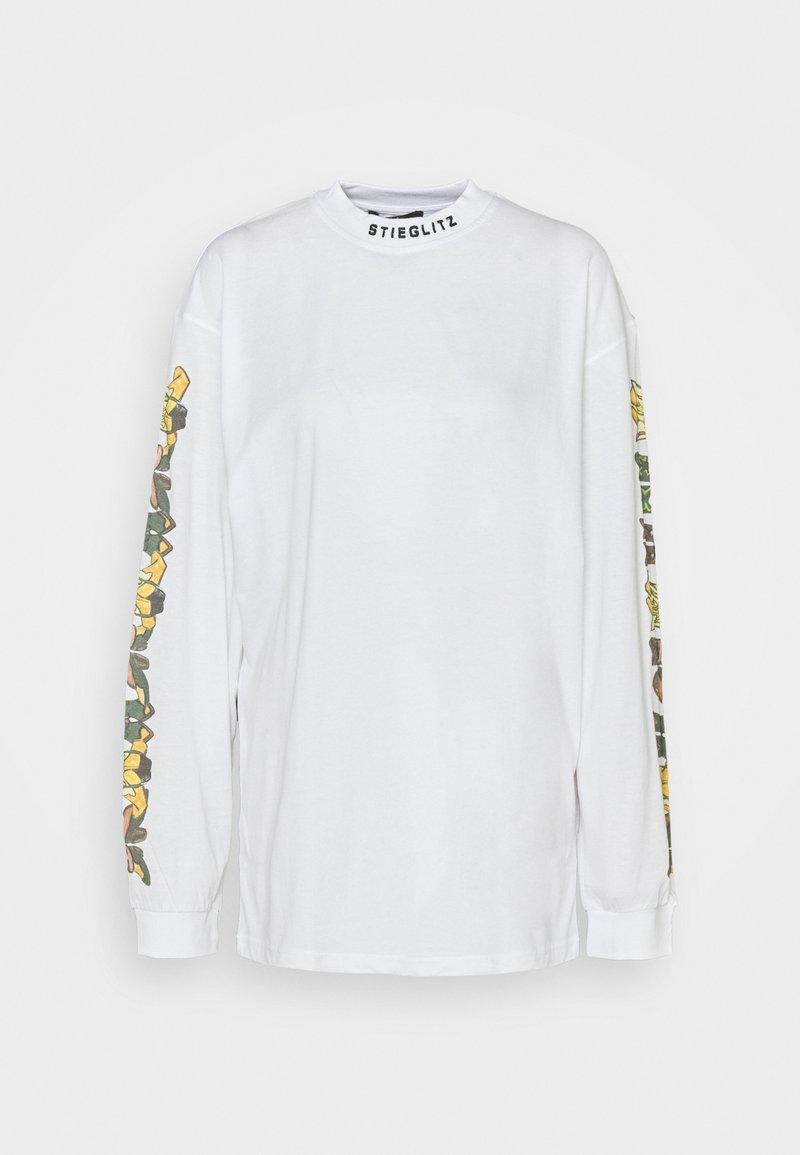 Stieglitz - ALAMOSA SKATE SHIRT - Long sleeved top - white