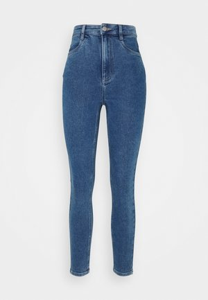 ULTRA HIGH SUPER STRETCH - Jeans Skinny Fit - coogee blue