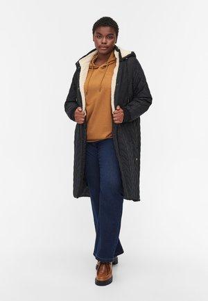 QUILTED - Winter coat - black