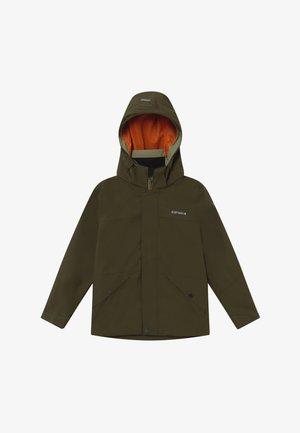 KIRTORF - Hardshell jacket - dark olive