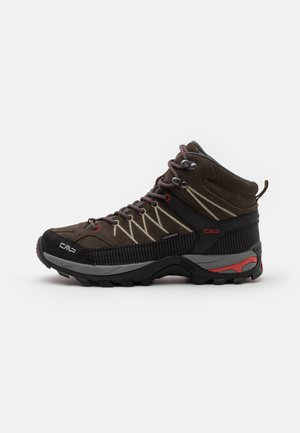 RIGEL MID TREKKING SHOES WP - Hiking shoes - wood/arena