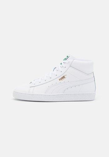 BASKET MID UNISEX - Sneakers alte - white