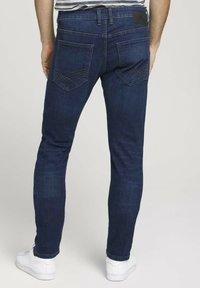 TOM TAILOR - TROY  - Slim fit jeans - stone wash denim - 2