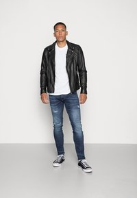 Pepe Jeans - HATCH POWERFLEX - Slim fit -farkut - dark used - 1