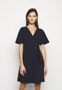 Lauren Ralph Lauren - LUXE DRESS  - Denní šaty - lighthouse navy - 0