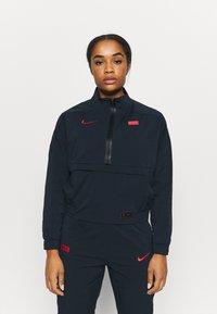 Nike Performance - FRANKREICH MIDLAYER - Klubové oblečení - dark obsidian/university red - 0