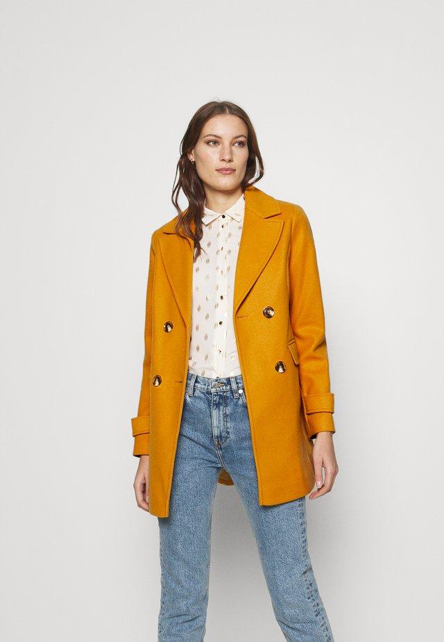 PEACOAT - Classic coat - ochre