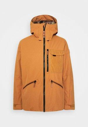 UTLTY JACKET - Snowboard jacket - glazed ginger