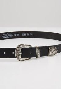 TOM TAILOR DENIM - Belt - black - 4