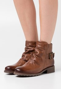Anna Field - Cowboy/biker ankle boot - brown - 0