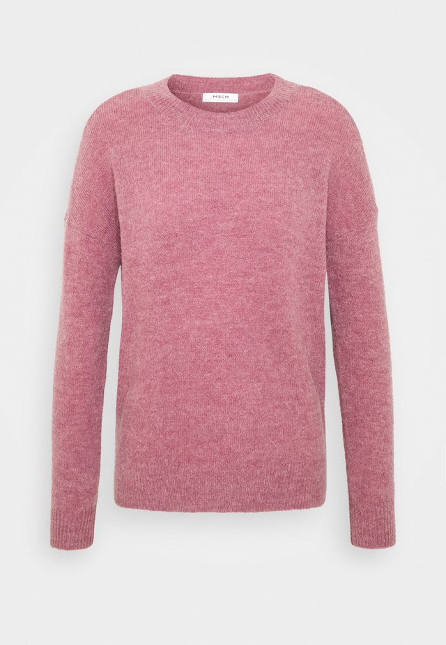 FEMME - Pullover - dusky orchid