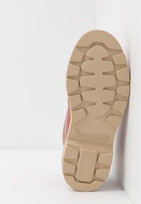 Timberland - CHUKKA WP - Volnočasové šněrovací boty - rust - 5