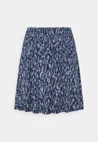 ICHI - IHLISA  - A-line skirt - cashmere blue - 0