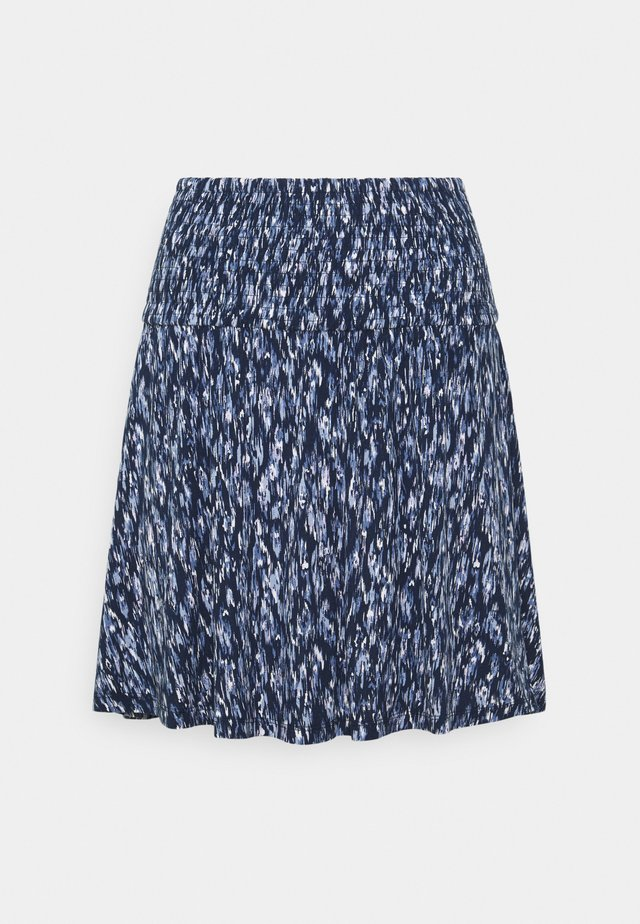 IHLISA  - A-lijn rok - cashmere blue