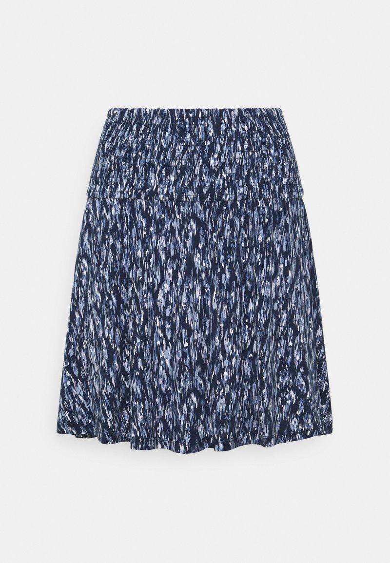 ICHI - IHLISA  - A-line skirt - cashmere blue